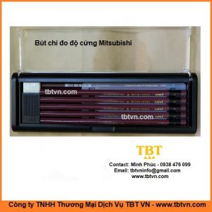 Bút chì đo độ cứng Mitsubishi Nhật Bản