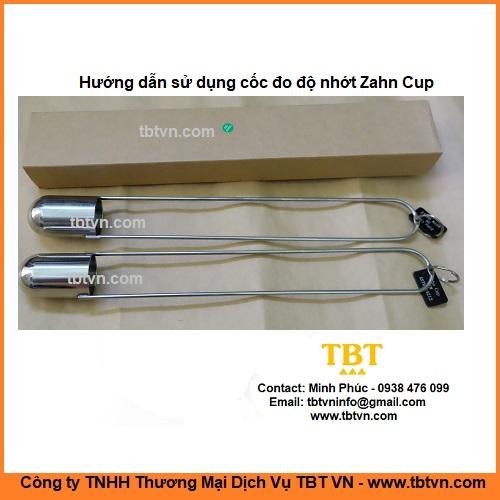 Hướng dẫn sử dụng cốc đo độ nhớt Zahn Cup Trung Quốc