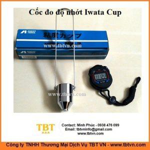 Cốc đo độ nhớt Iwata Cup NK-2