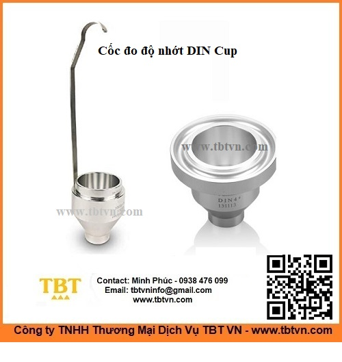 Cốc kiểm tra độ nhớt DIN Cup