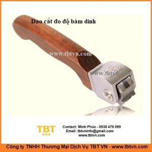 Dao cắt đo độ bám dính 4 mặt tay cầm gỗ
