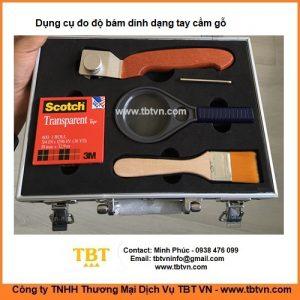 Dụng cụ đo độ bám dính dạng tay cầm gỗ