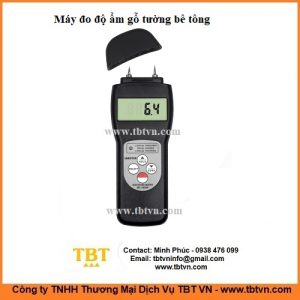 Máy đo độ ẩm gỗ tường bê tông