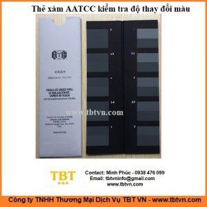 Thẻ xám AATCC kiểm tra độ thay đổi màu