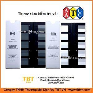 Thước xám kiểm tra vải AATCC ISO105