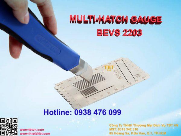 MULTI - HATCH GAUGE BEVS 2203